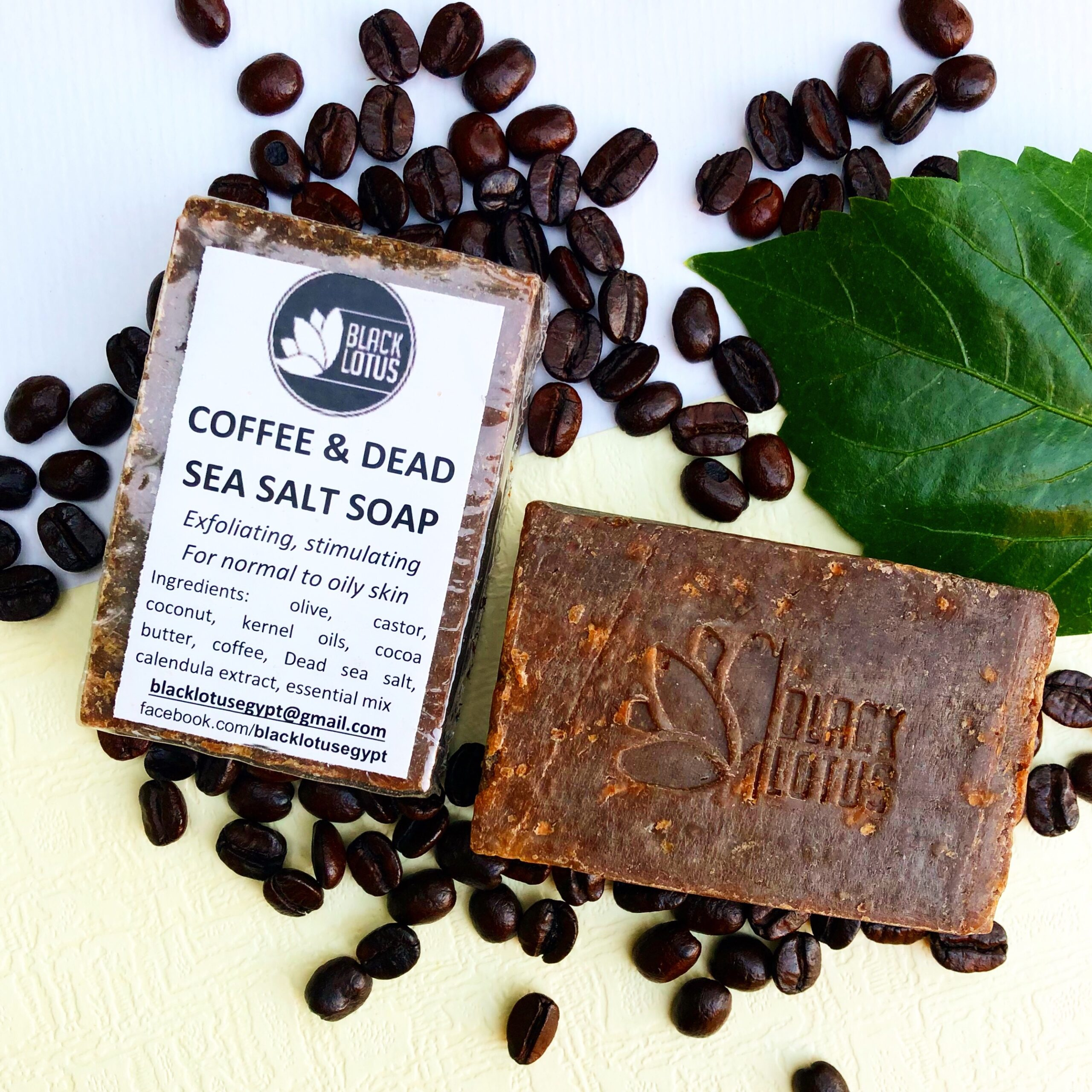 Coffee and Dead Sea Soap