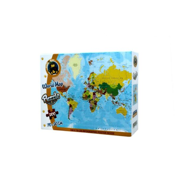 World Map Puzzle 300 Pieces