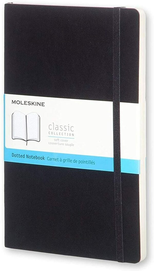 Dot Black Soft Notebook LG