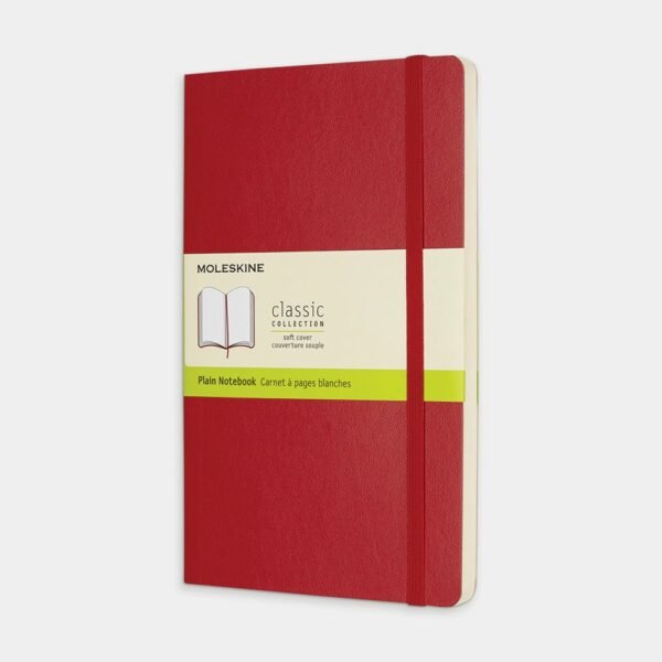 Red Soft Notebook LG Plain