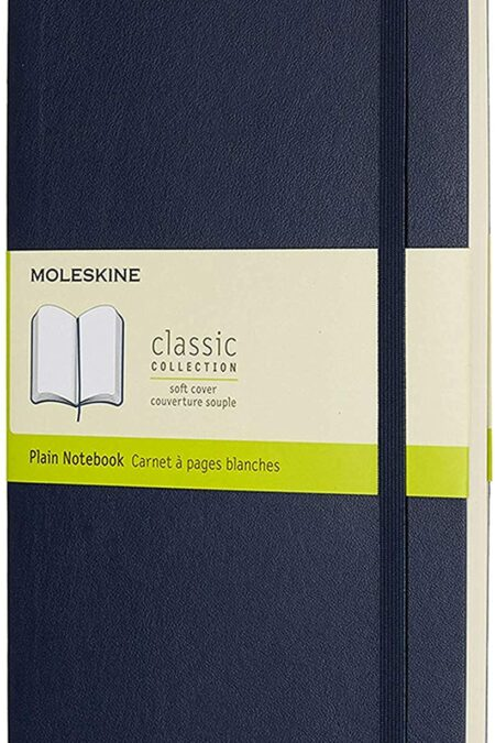 Blue Soft Notebook LG Plain