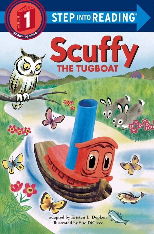 Scuffy the Tugboat (Step into Reading)