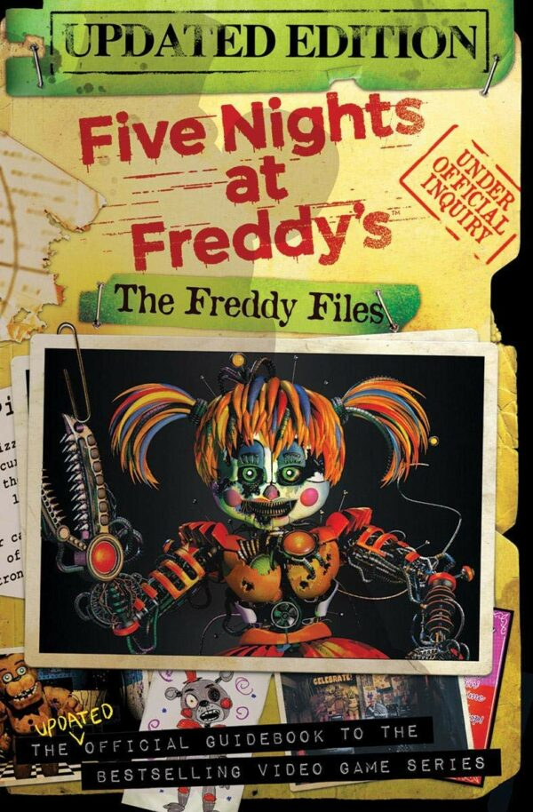Freddy Files: Updated Edition (Five Nights At Freddy's)