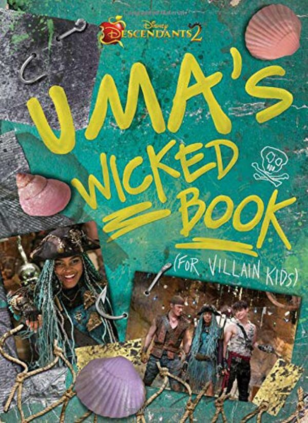 Descendants 2 Uma's Wicked Book For Villain Kids