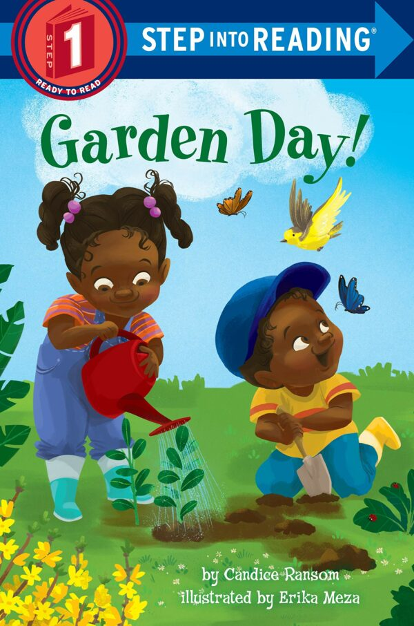 Garden Day (Step into Reading)