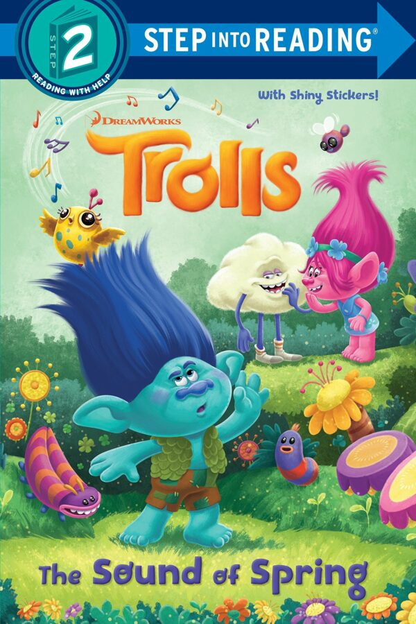 Sound of Spring (DreamWorks Trolls) (Step into Reading)
