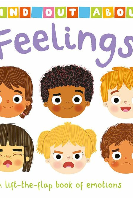 Find Out About Feelings A lift-the-flap book of emotions