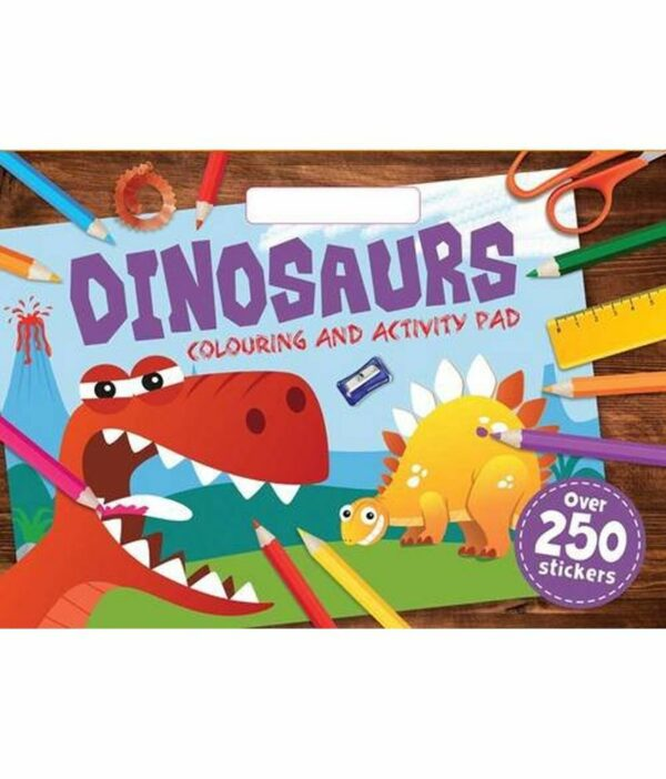 Dinosaurs Colouring and Activity Pad