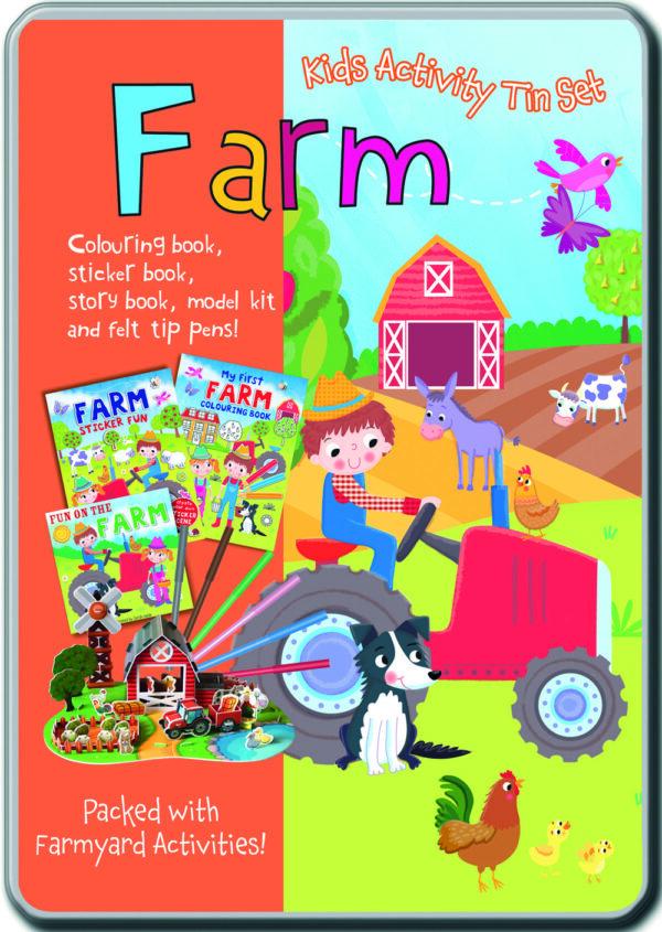 Farm - Kids Activity Tin Set