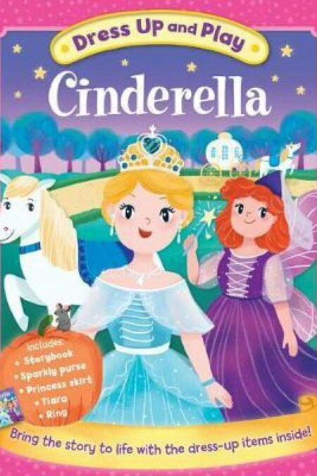 Dress Up and Play Cinderella (Play Book Dress-Up)