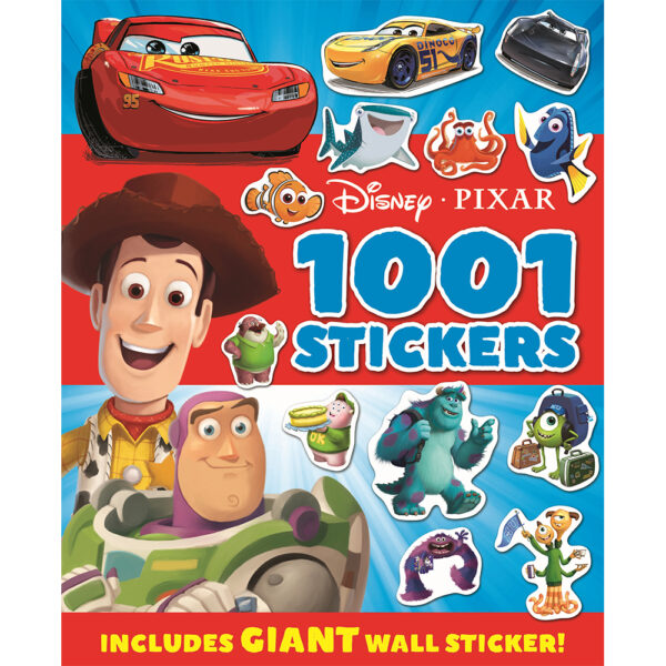 1001 Stickers Disney Pixar
