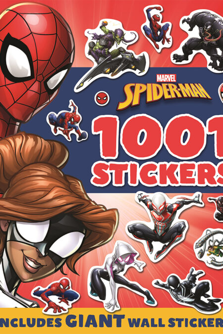 1001 Stickers Marvel Spider Man