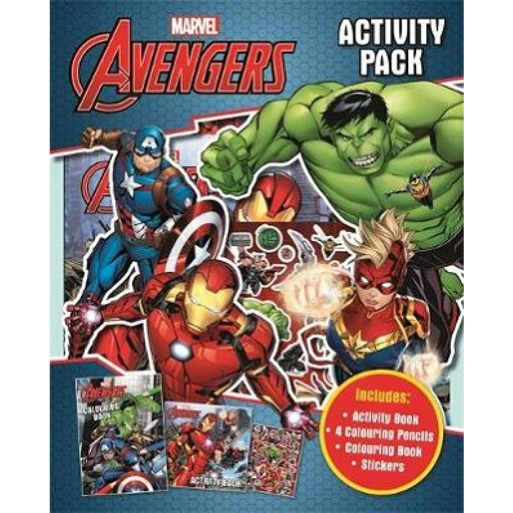 Marvel Avengers: Activity Pack