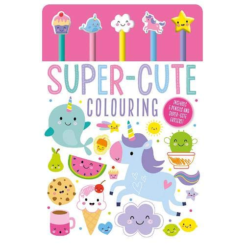 Eraser Pen Toppers Super-Cute Colouring