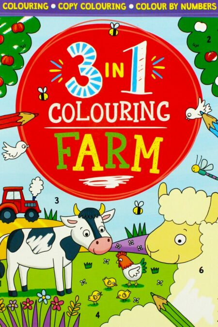 3 in 1 Colouring Farm