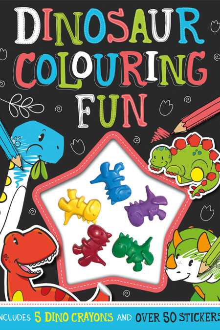 Dinosaur Colouring Fun