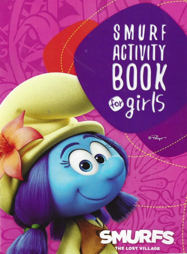 Smurf Activity Book for Girls(6221133353298)