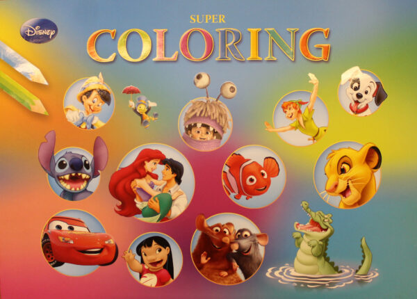 Disney Super Coloring Book