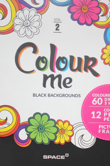 Colour Me Vol 2 Colouring Book
