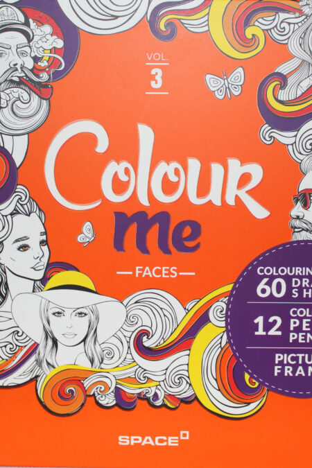 Colouring book vol.3 (Faces)