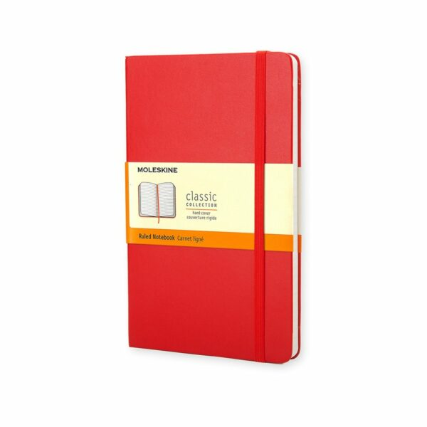 Pocket Ruled Notebook Red