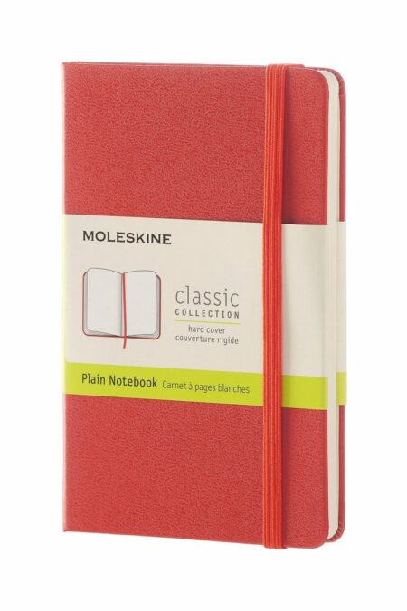 Pocket Plain Notebook Red
