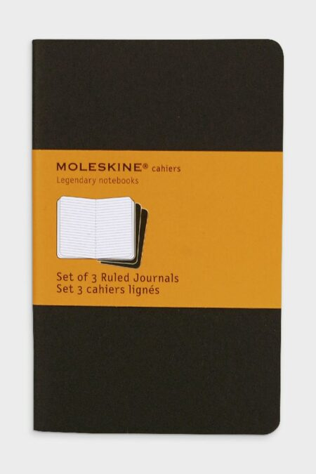 Pocket Ruled Cahier Black Set