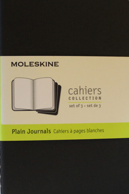 Pocket Plain Cahier Black set