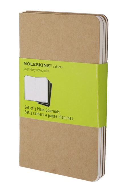 Pocket Plain Cahier Kraft Set