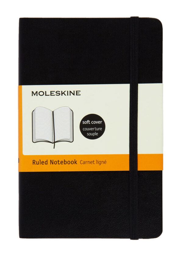 Pocket Ruled Soft Notebook