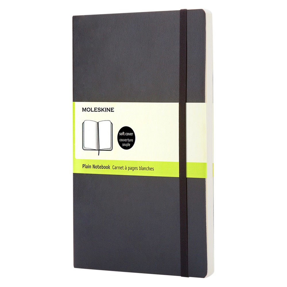 Large Plain Soft Notebook
