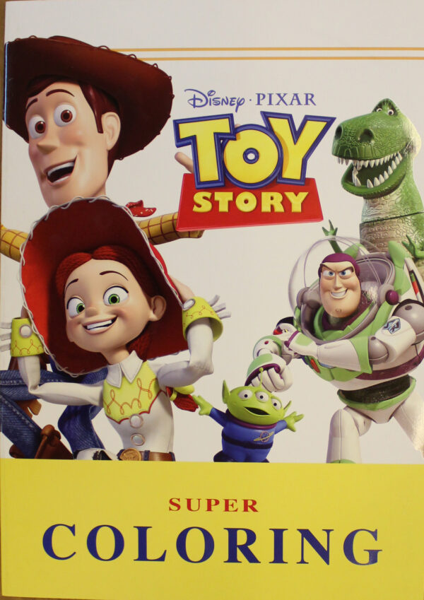 Toy Story Super Coloring