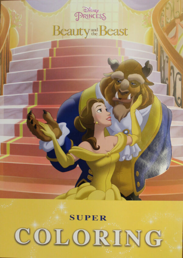 Beauty and The Beast Super Coloring