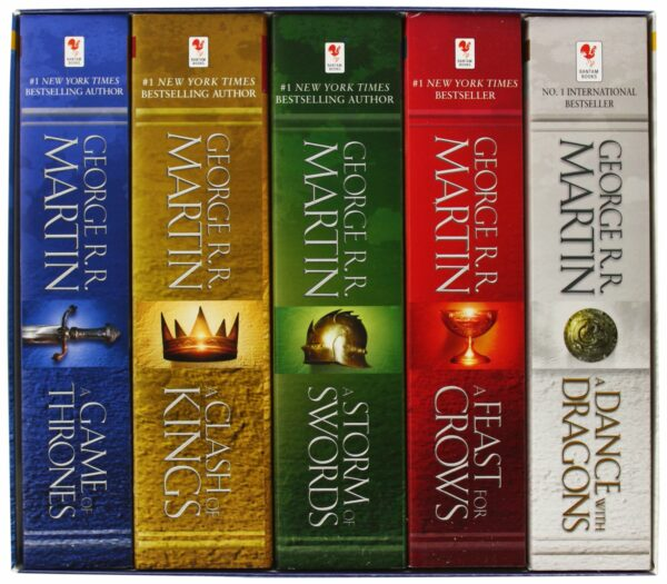Song of Ice and Fire 5-copy Boxed Set