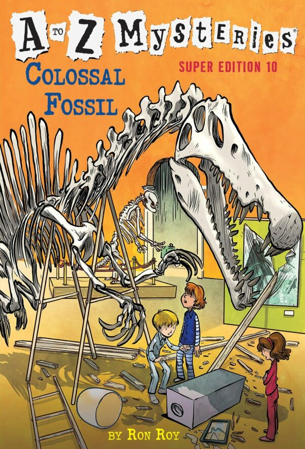 Colossal Fossil A to Z Mysteries Super Edition 10