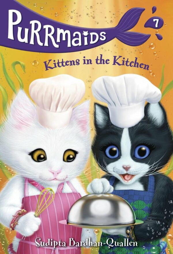 Purrmaids 7 Kittens in the Kitchen