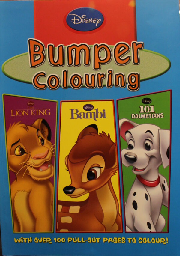 Disney Bumper Colouring (Lion King)