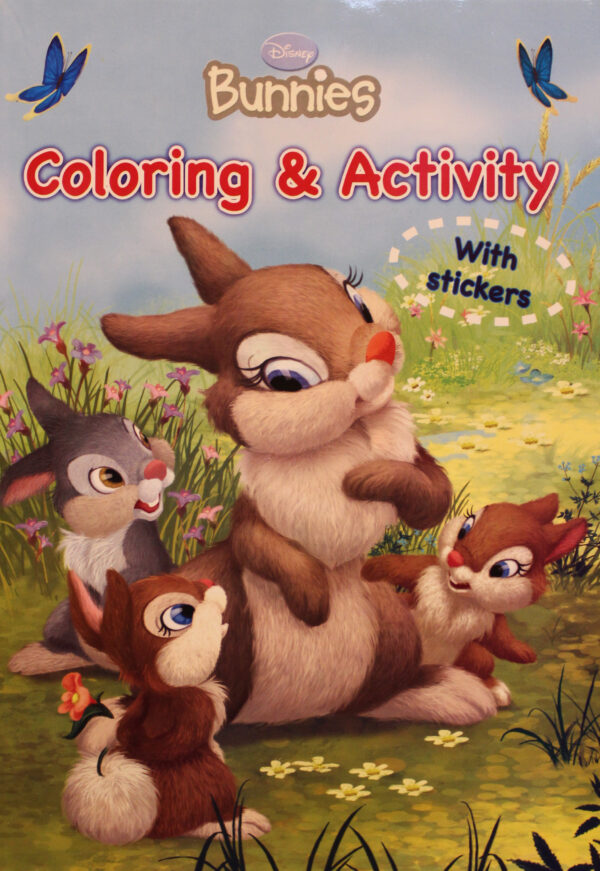 Disney Bunnies Coloring and Activity (6221133340090)