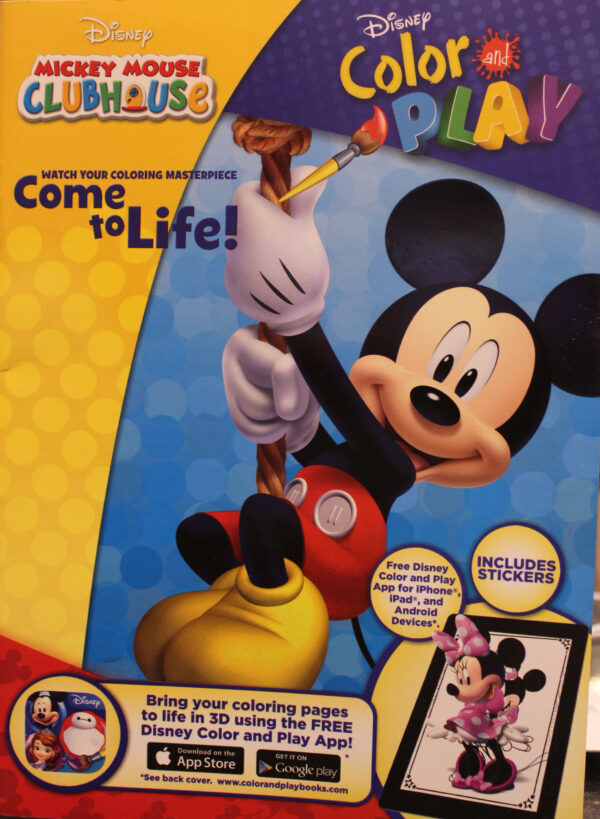 Mickey Mouse Clubhouse Color and Play (6221133352901)