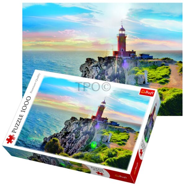 Melagavi Lighthouse Trefl Puzzle 1000(680x480) 1000 Pieces 10436
