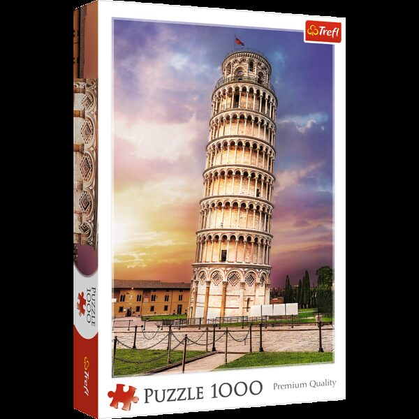 Pisa Tower Trefl Puzzle 1000 (680x480) 1000 Pieces 10441