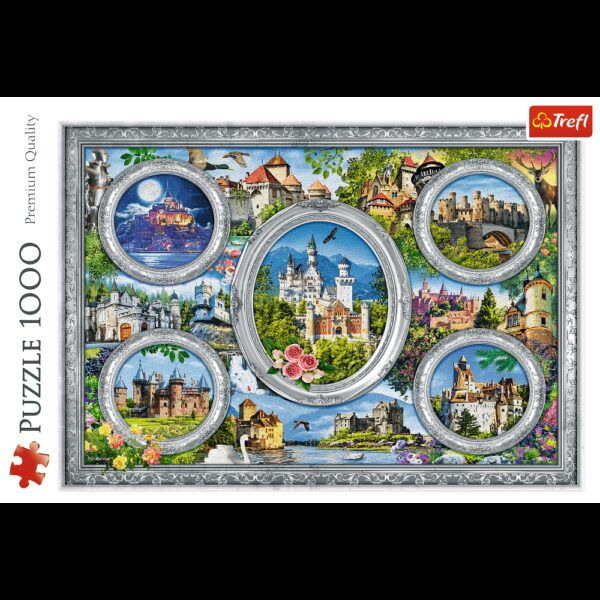 Castles of the world Trefl Puzzle 1000 (680x480) 1000 Pieces 10583