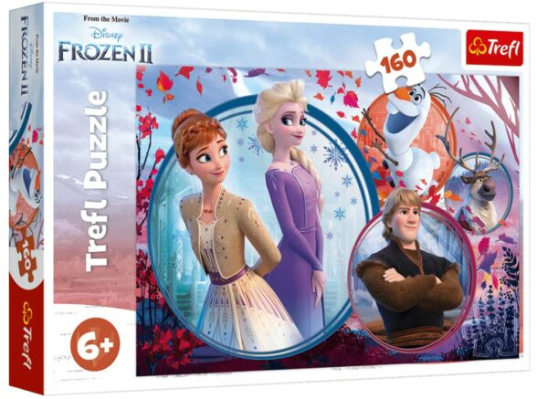 Sister adventure- Disney Frozen 2 Trefl Puzzle 160 (410x278) 160 Pieces 15374
