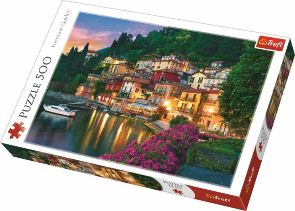 Lake Como Italy Trefl Puzzle 500 (480x340) 500 Pieces 37261