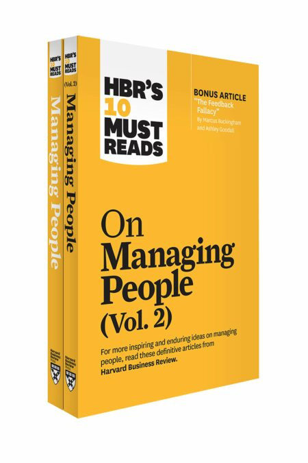 HBR's 10 Must Reads on Managing People 2-Volume Collection