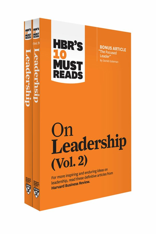 HBR's 10 Must Reads on Leadership 2-Volume Collection