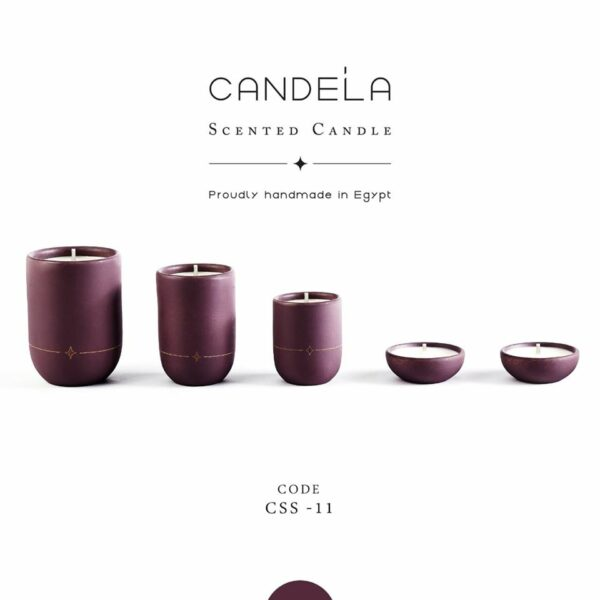 Regalo Earthy Purple Candle