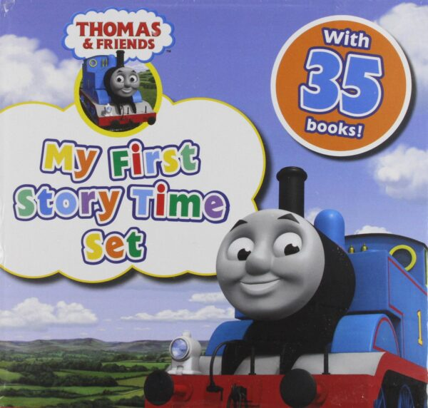 Thomas and Friends Storytime Children Collection Gift Set Pack - 35 Books, The Tall Friend, Busy Engines, Thomas Crazy D