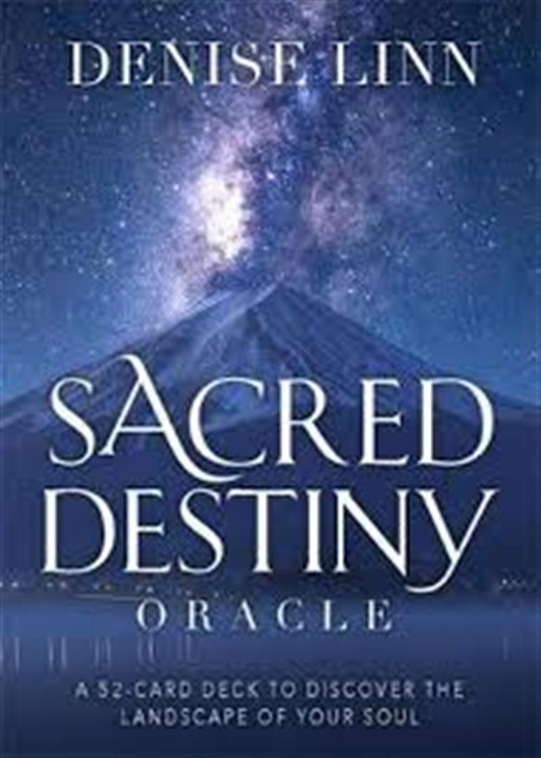 Sacred Destiny Oracle : A 52-Card Deck to Discover the Landscape of Your Soul