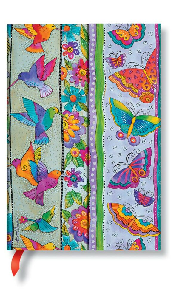 Mini Hummingbirds & Flutterbyes lined Notebook
